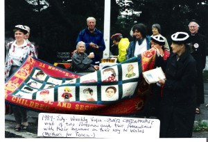 Weekly Vigil at Capenhurst  - July 1989
